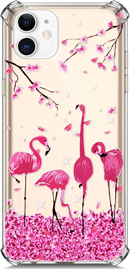 JAWSEU Funda Transparente con Dibujos Compatible con iPhone 11 ...