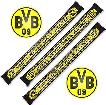 chaussures de séparation sortie de gros hot-vente plus récent Borussia dortmund écharpe, foulard et écharpe you'll never ...