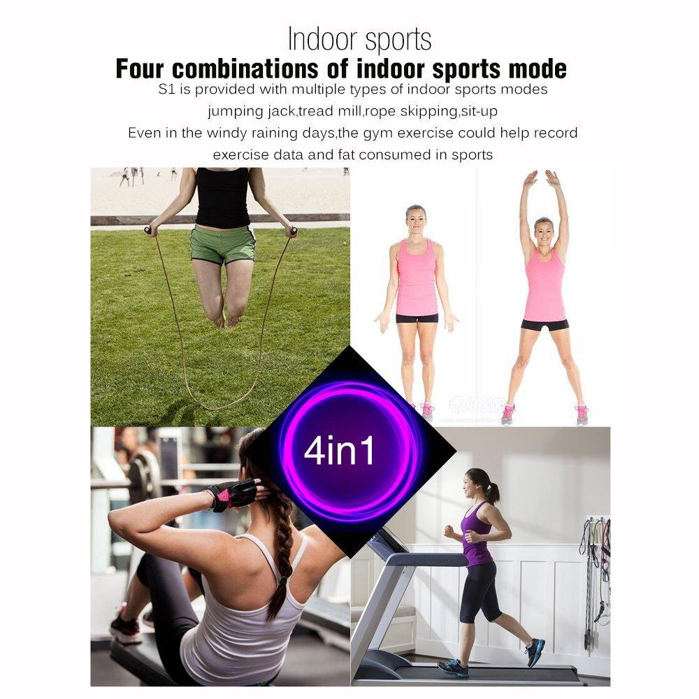 Monitor de ritmo cardíaco inteligente deportes pulsera corazón ...