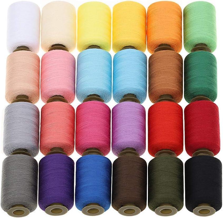 Hilos de coser ToomLight, bordado de hilo de poliéster de 24 ...
