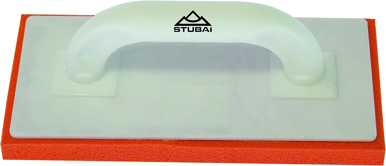 fine Sponge Rubber,20mm 280x140 Stubai 436066 Plastic Float White//Red//Orange 280 x 140 x 20 mm