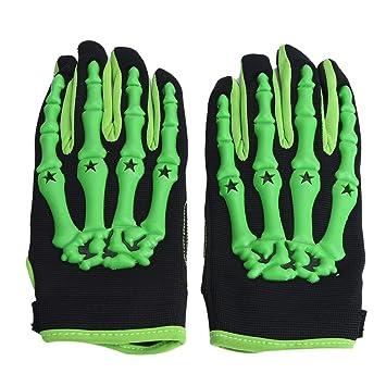 Maxquoia - Guantes de Dedos Completos Modelo Esqueleto