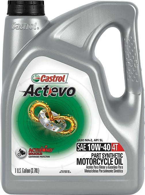 Castrol ActEvo Xtra 10 W-40 Aceite de motor 4 tiempos