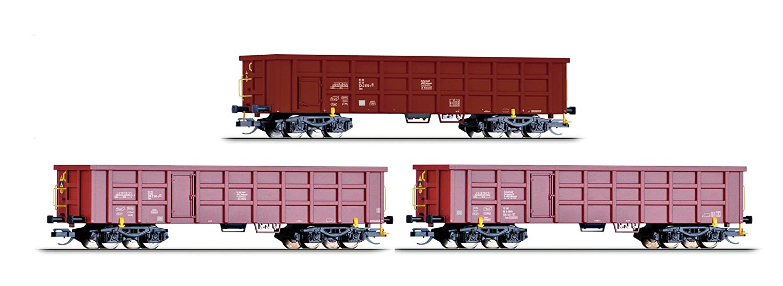 Tillig TT Offener Güterwagenset 3-teilig Eaos V
