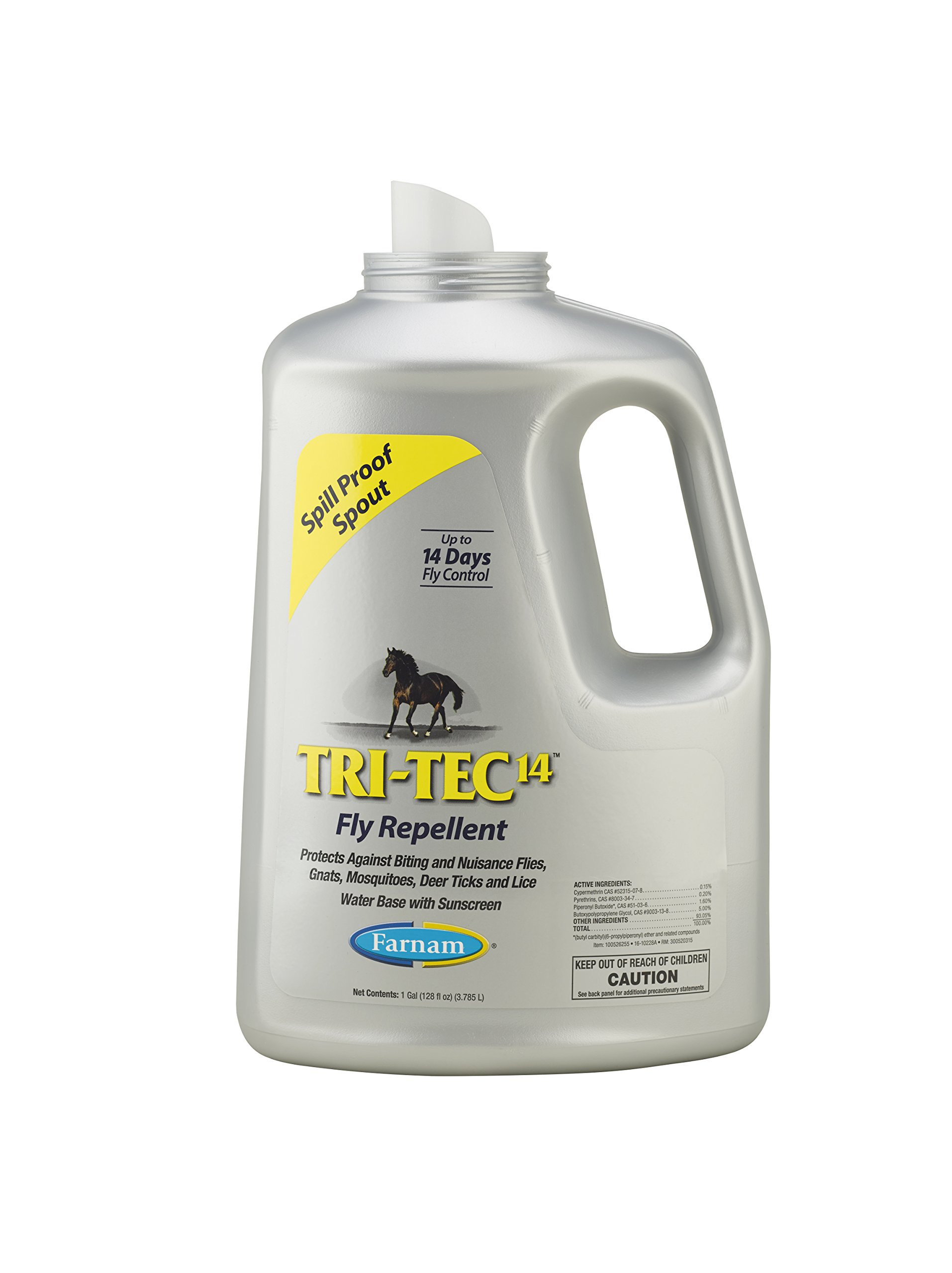 Farnam Tri-Tec 14 Fly Repellent Spray for Horses with Sunscreen 1