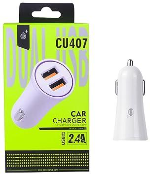 One Plus 802248 - Cargador Auto Doble USB (2400 mAh) Color ...