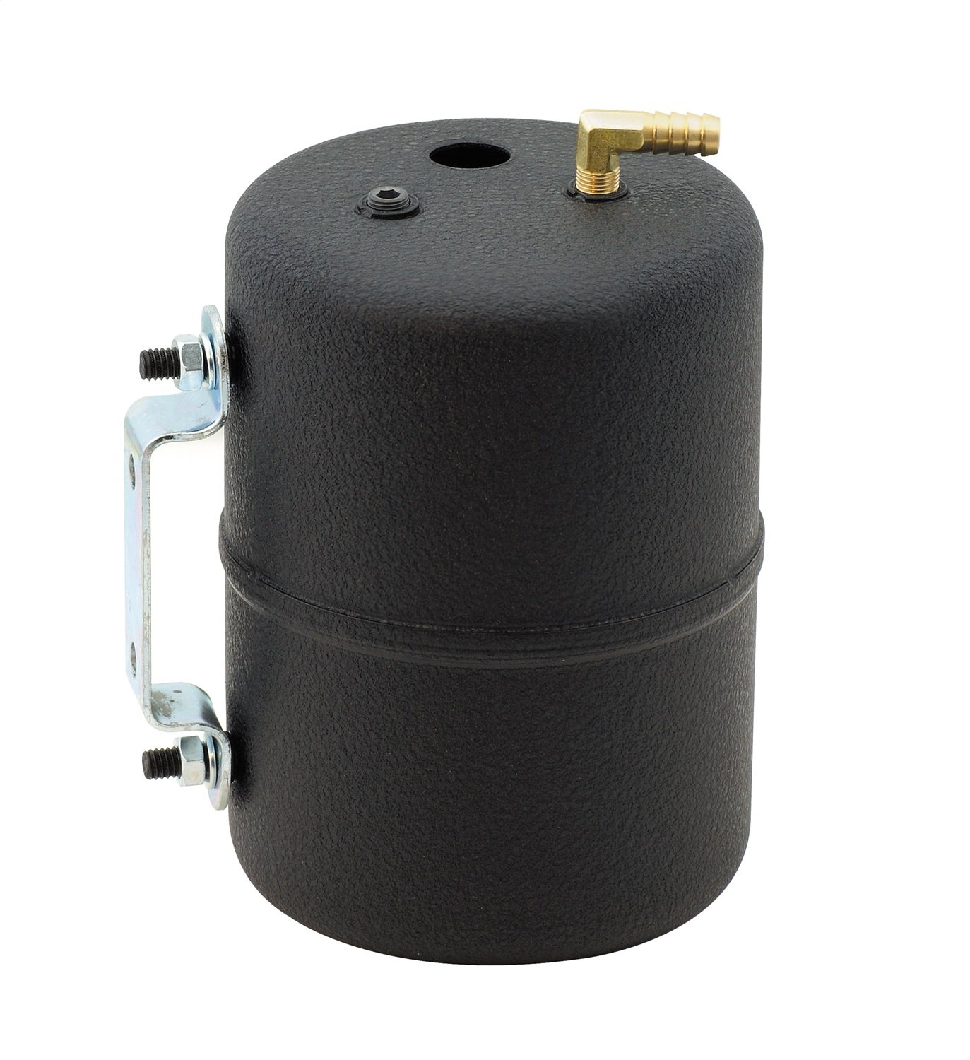 Gasket 3701 Black Painted Vacuum Canister with fittings Mr