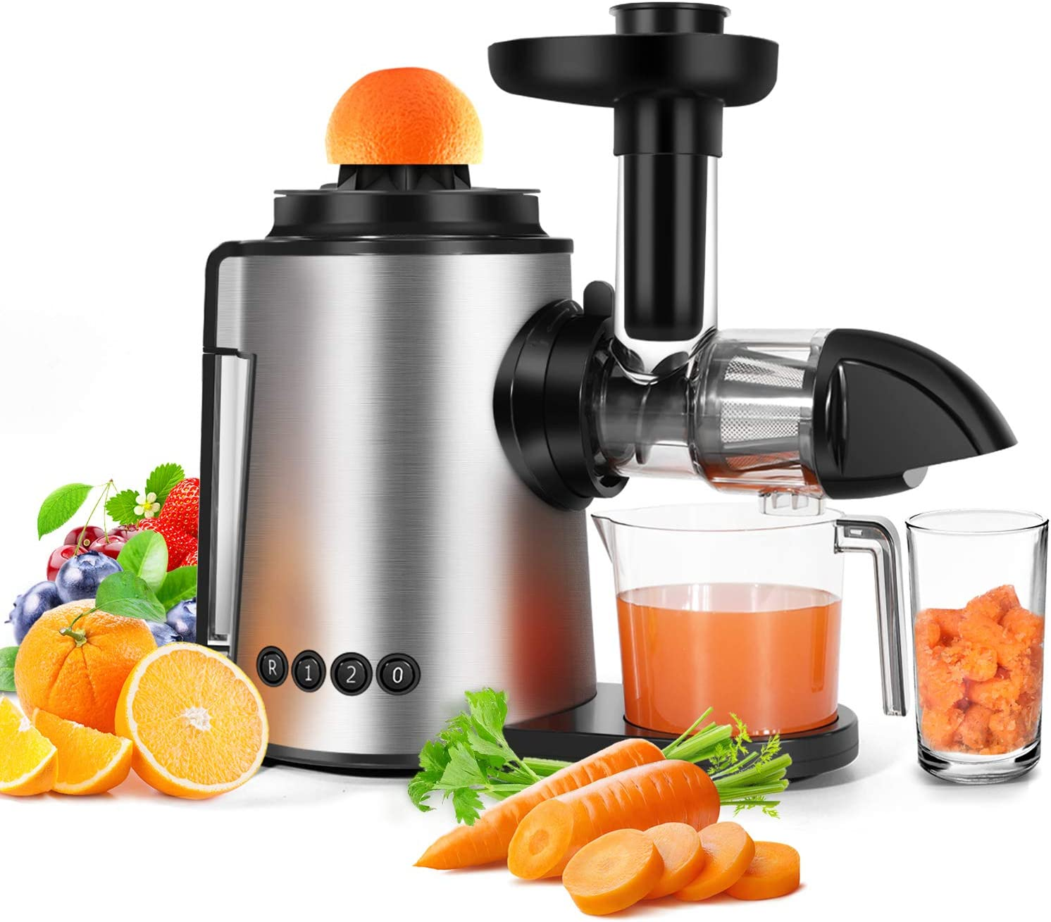 Amazon Promo Code 2020 for Juicer Slow Masticating Juicer Machine 2 in 1