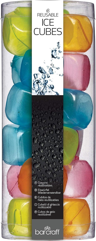 Kitchen Craft Mix It Pack de Cubitos Reutilizables, Multicolor, 2 x 2 cm