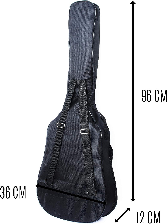 Acoustique Classique Sac de Protection Imperm/éable SOSKY Housse Guitare 3//4