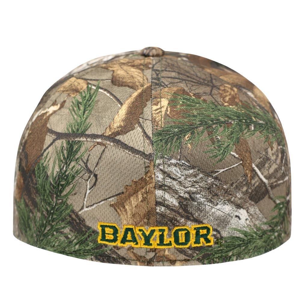 b5dd6b2c37278 Amazon.com   Top of the World Baylor Bears Tow Camo Realtree Xtra Memory  Foam Flexfit Hat Cap (M L)   Sports   Outdoors