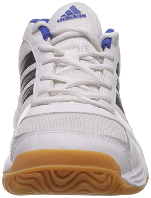 146e07a97eb Adidas Men s Emblaze White and Silver Badminton Shoes - 12 UK  Buy Online  at Low Prices in India - Amazon.in