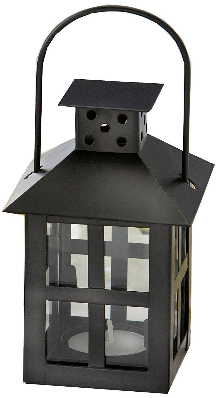 Luminous Mini-Lantern Tea Light Holder [Set of 48]
