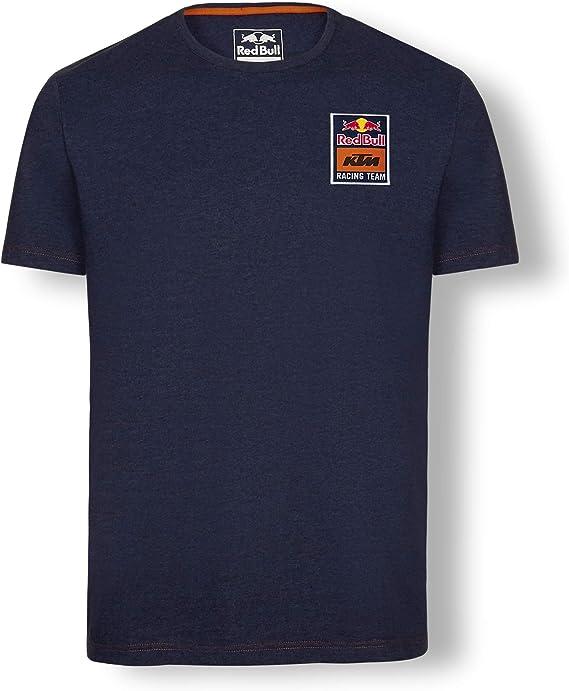 Red Bull KTM Mosaic Camiseta, Azul Hombre XXX-Large Top, KTM ...