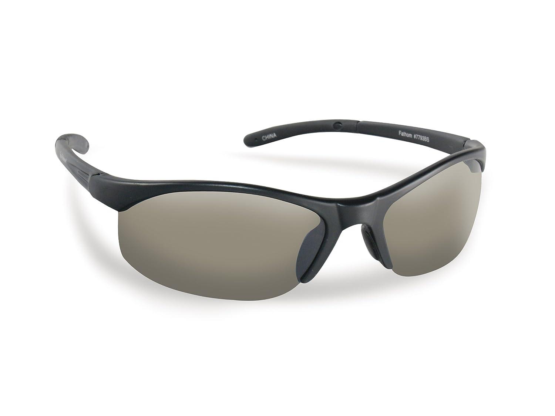 4e0dd76e11 Amazon.com  Flying Fisherman Bristol Polarized Sunglasses (Matte Black  Frame