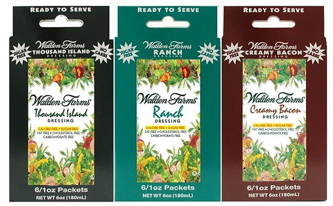 Walden Farms Aderezo para ensaladas Rancho-cremosa
