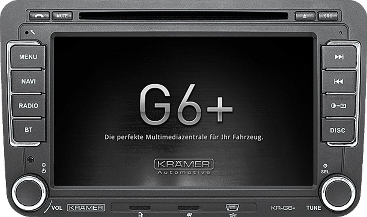 Krämer Radio-Navigationssystem KR-G6+ für VW, SEAT und SKODA: Amazon ...