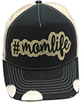 Mom Life #momlife # Momlife Glittering Trucker Style baseball Cap Hat