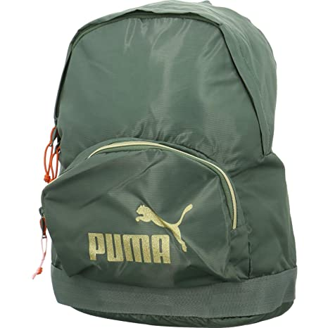 625f9b03a08a3 Puma Damen WMN Core Backpack Seasonal Rucksack Laurel Wreath Gold OSFA