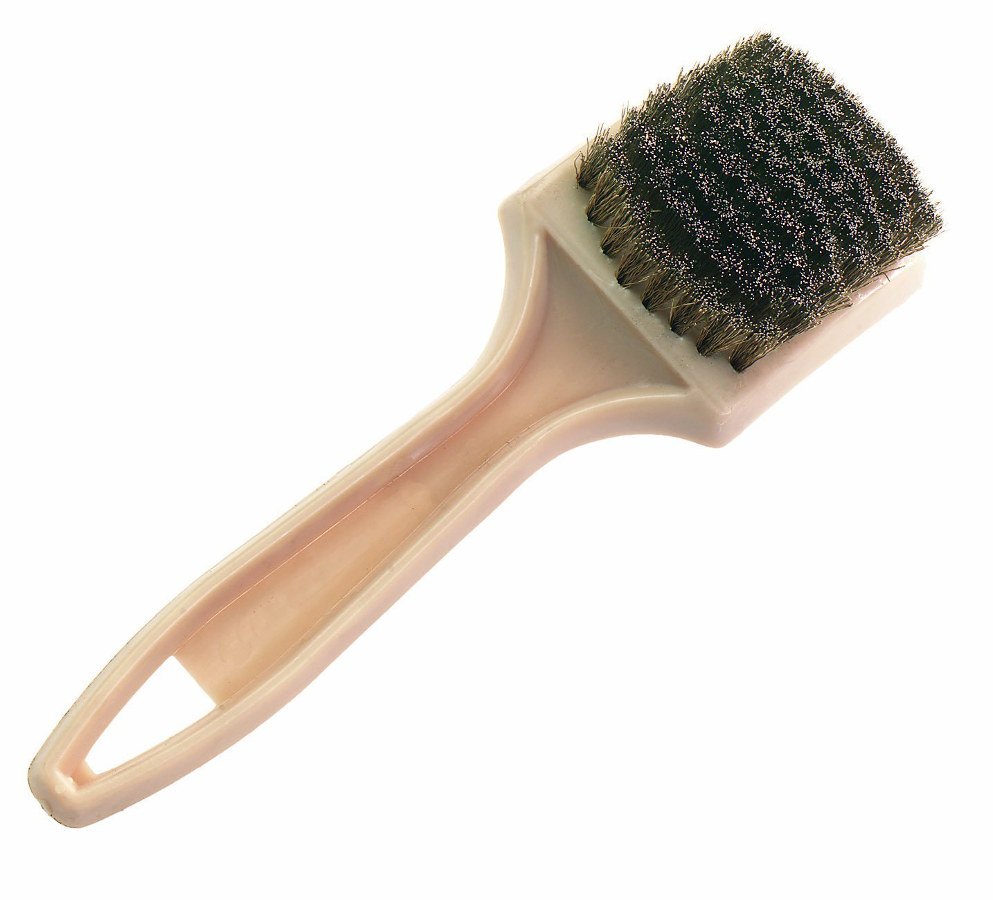 Osborn International 71150SP Brass Tile Cleaning Brush with Plastic Handle, 2-3/4' Brush Area Length [並行輸入品] B01MDUPPMZ