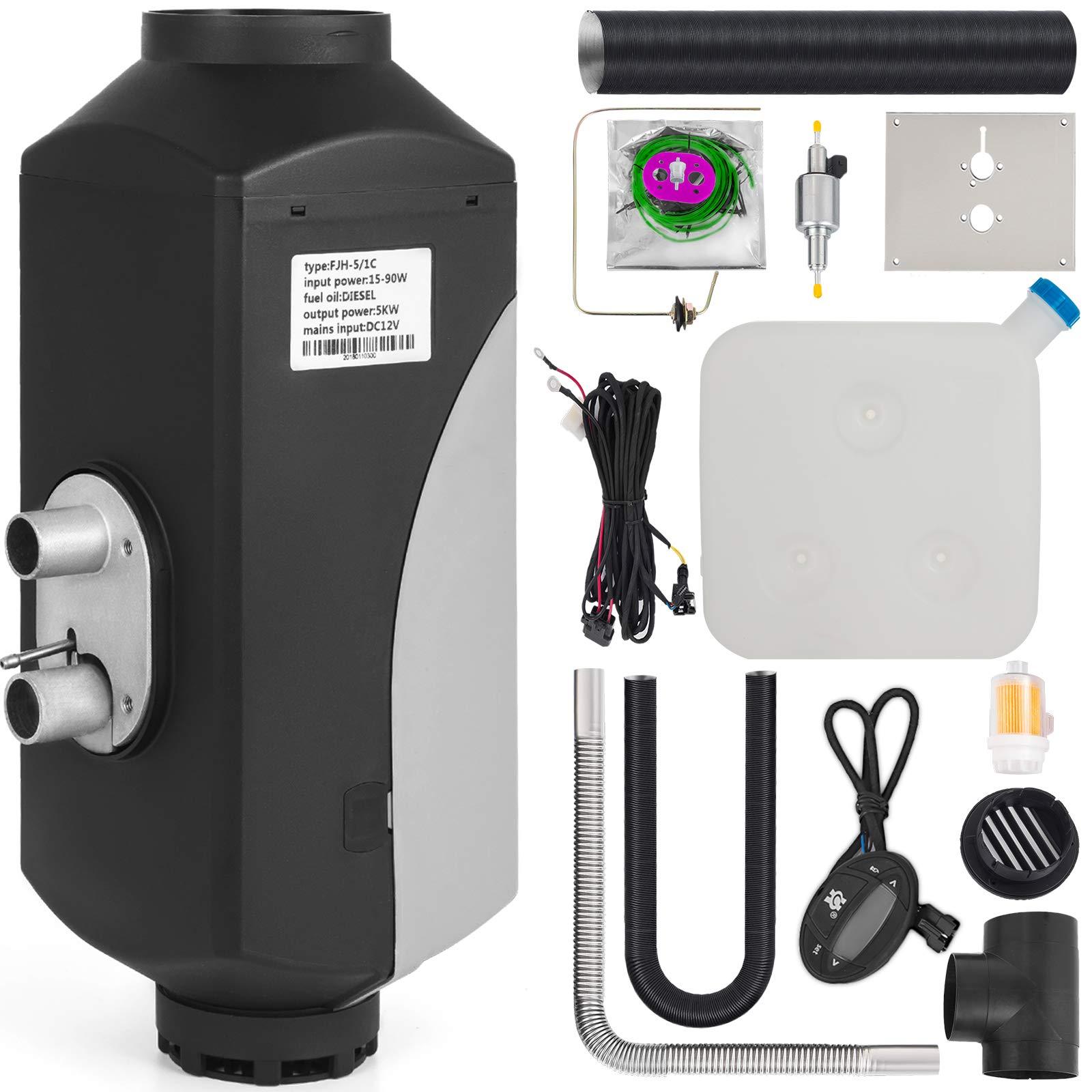 Mophorn Air Diesel Parking Heater 12V 4KW Diesel Heater Parking Heater 7 Day Timer Digital