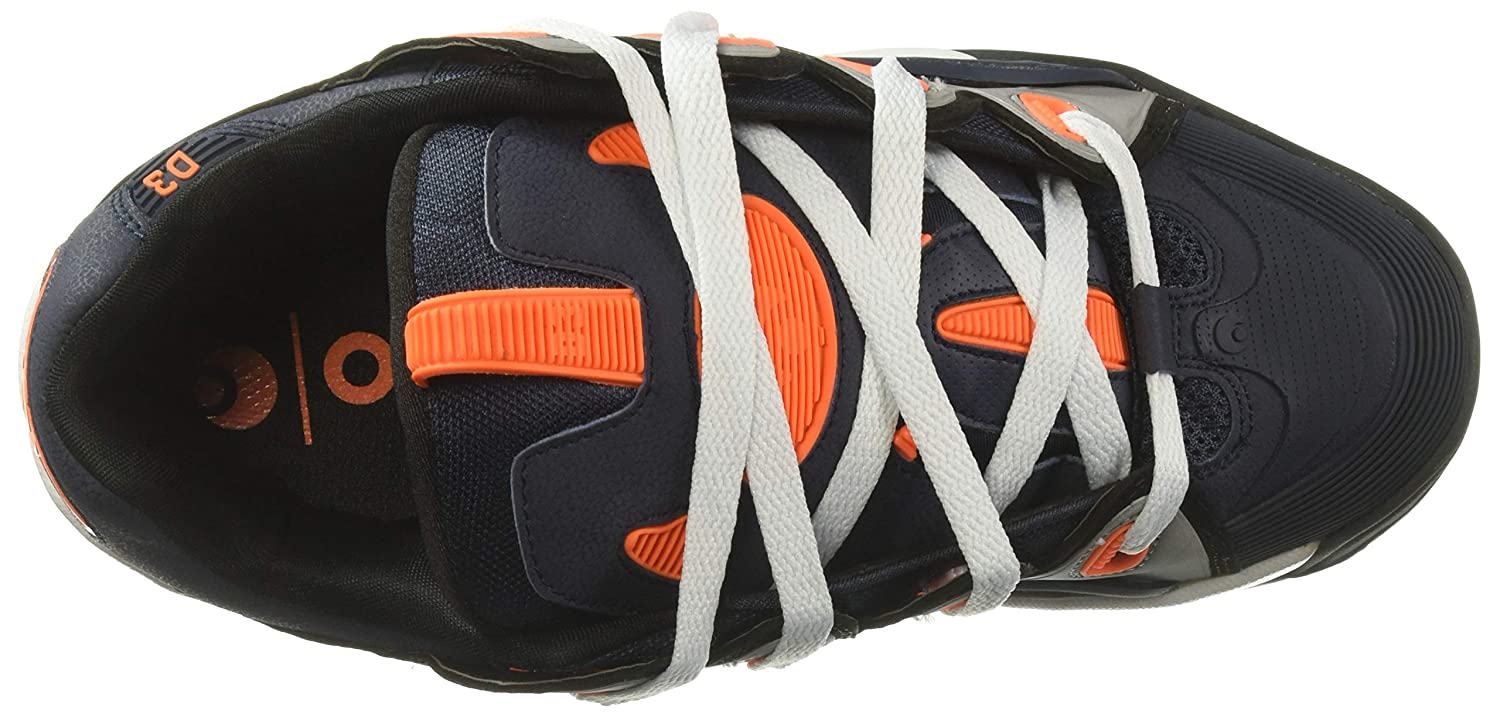 Osiris Men's 2001 D3 2001 Men's Skate Shoe 14 M US|Navy/Black/Orange B078W74K9J bd5978