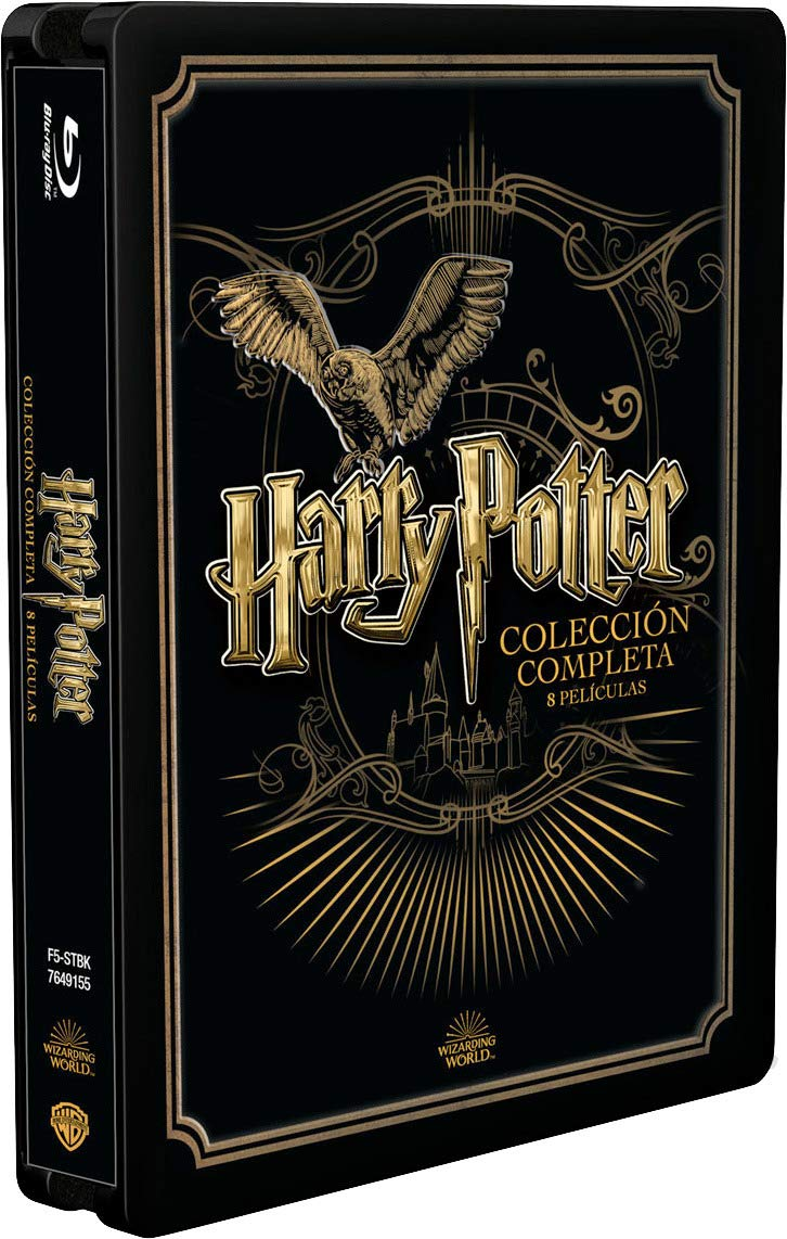 Pack Harry Potter - Colección Completa Golden Steelbook 2019 Bd ...