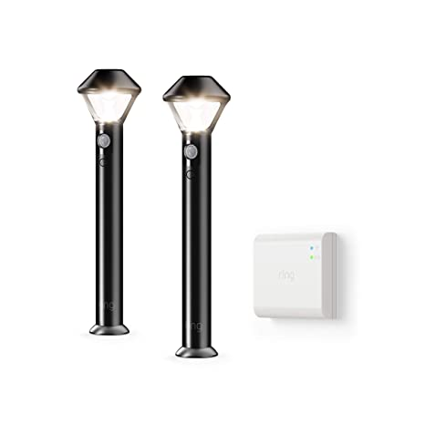 Introducing Ring Smart Lighting    Pathlight, Black (Starter Kit: 2 Pack) by Ring