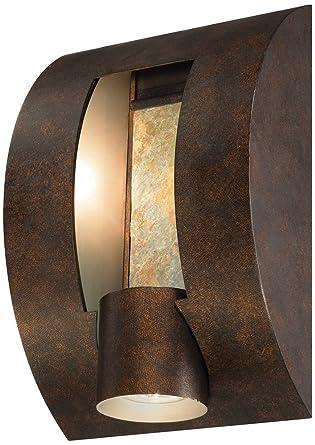 Slate Bronze ADA Compliant 12u0026quot; High Outdoor Wall Light  sc 1 st  Amazon.com & Slate Bronze ADA Compliant 12