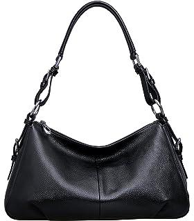 Heshe Women's Leather Shoulder Handbags Cross Body Bags Hobo Totes ...