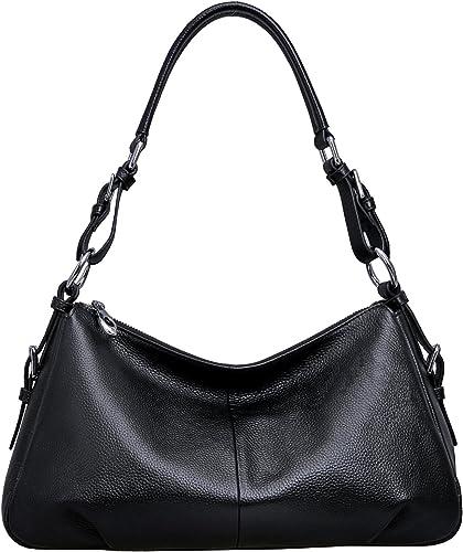 Brown TENDYCOCO Vintage Clutch Leather Shoulder Bag Handbag Large Capacity Crossbody Bag Casual Satchel Bags for Women