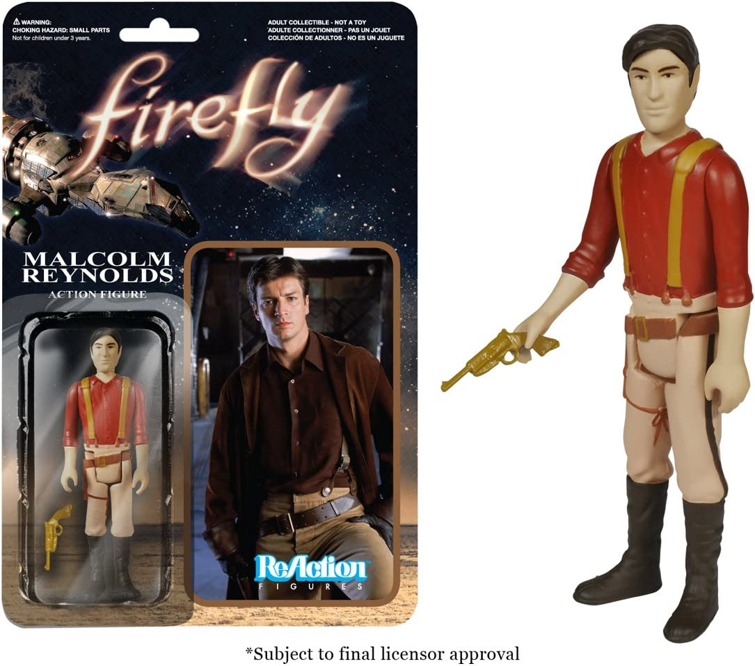 Funko Firefly Malcom Reynolds ReAction Figure