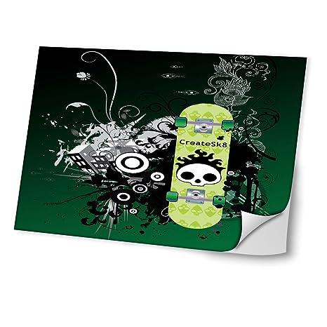 Urban 10007, Diseño Mejor Pegatina de Vinilo Protector con Efecto Cuero Extraíble Adhesivo Sticker Skin