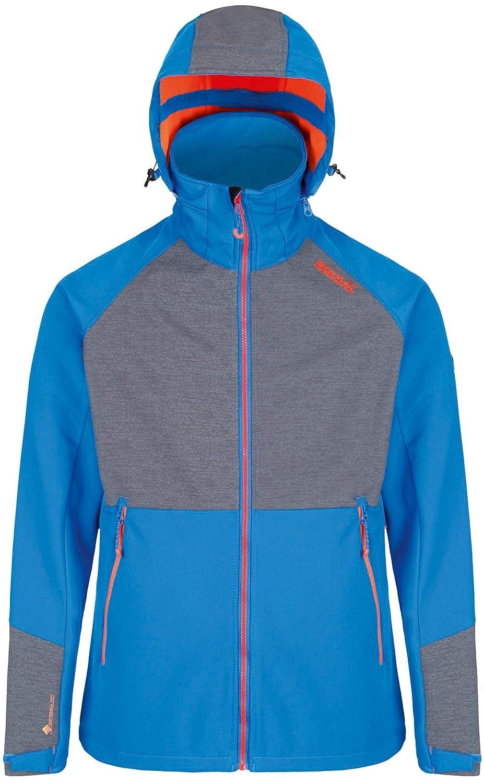Regatta Hewitts IV Jacket Men Oxford Blau Seal grau 2018 Funktionsjacke