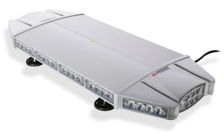 Falcon Flight Emergency 3 watt Low Profile Magnetic Roof Mount Mini LED Light Bar LED Light Bar 27 in (Red/Amber)