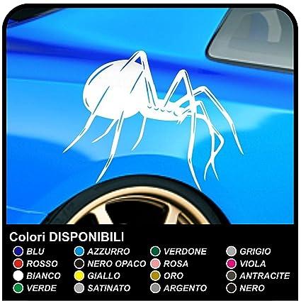 Pegatinas laterales araña coche pegatinas araña cm 60 decoración ...