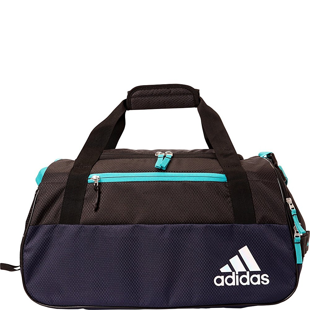 feb6f2ccd716 Galleon - Adidas Squad III Duffel (Trace Blue Hi-Res Aqua Black)
