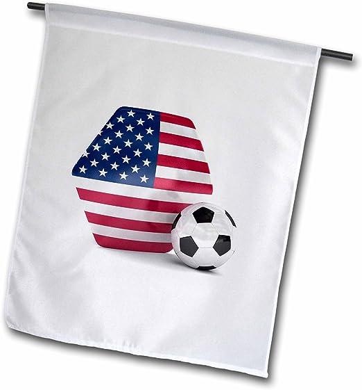 3dRose FL 181919 _ 1 Estados Unidos de balón de fútbol Bandera de ...
