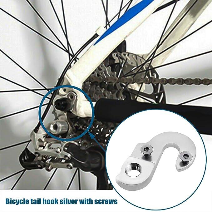 Mountainbike Schaltauge Verlängerung Fahrradrahmen Schaltwerk HeckhakR*jg