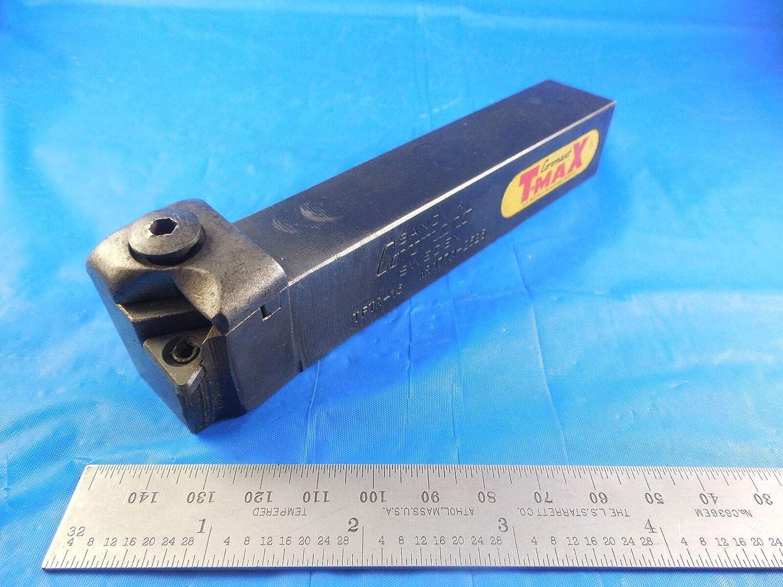 Rectangular Shank 170mm Length x 22mm Width Lever Lock Left Hand 32mm Width x 25mm Height Shank CNMG 543 Insert Size Sandvik Coromant PCBNL 3225P 16 Turning Insert Holder Steel External
