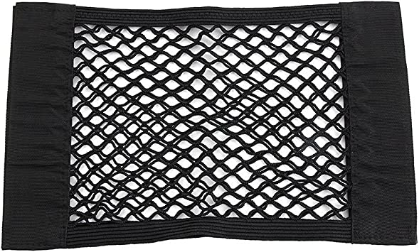 Universal Schwarz Auto Seiten Rückseiten Stamm Lagerung Net Taschen Beutel Double Layer Beutel Mit Klebeband 40 25 5cm Auto