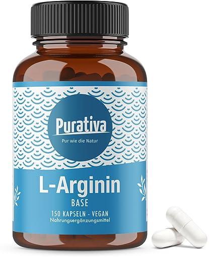 L-arginina de base 3500, una dosis alta (150 cápsulas) - arginina