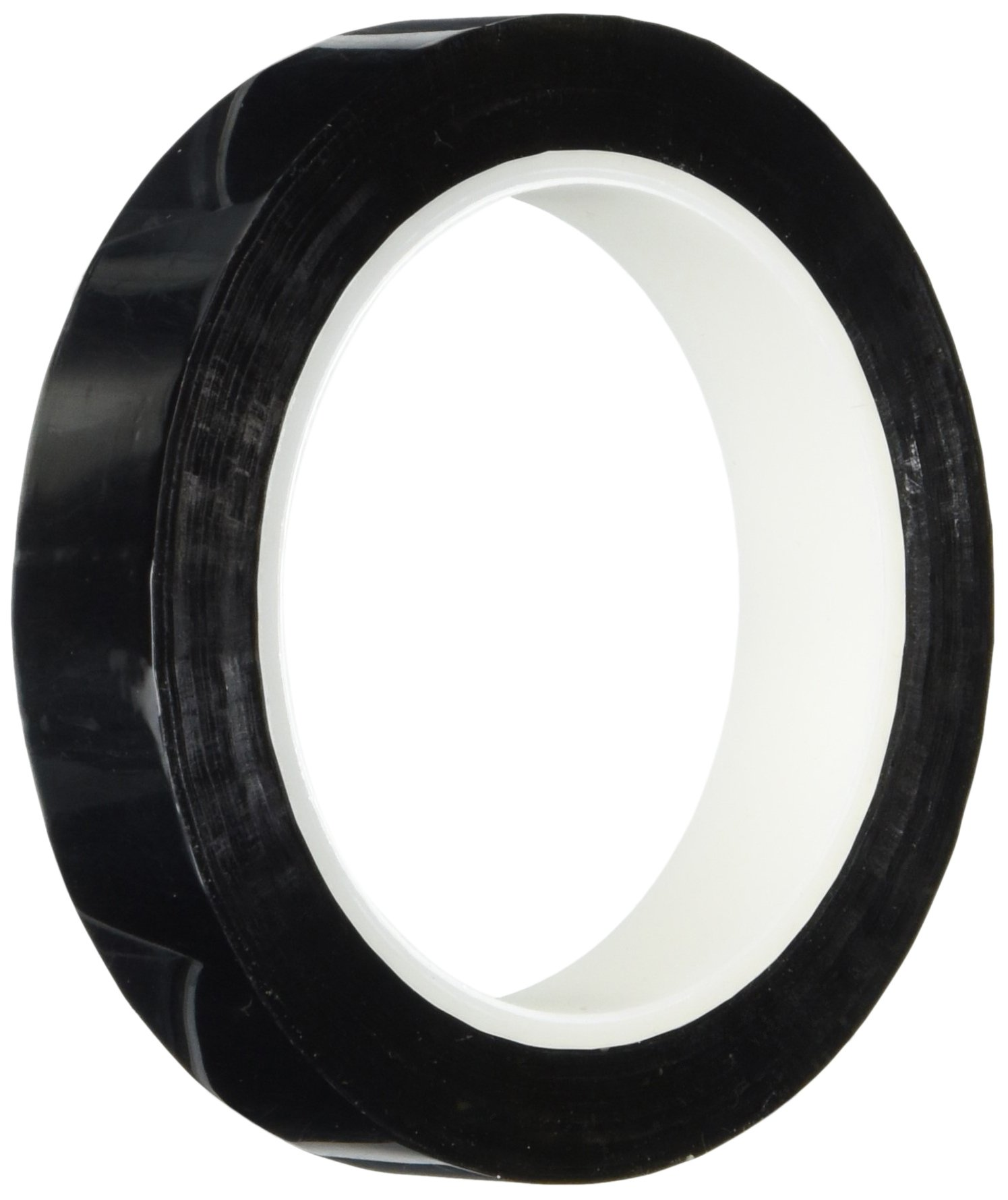 TapeCase Metalized Polyester Film Tape 3/4'' x 72yds - Black (1 Roll)