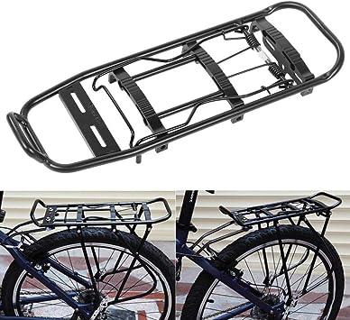 AYNEFY Portaequipajes Bicicleta Accesorios Soporte, Bicicleta de ...
