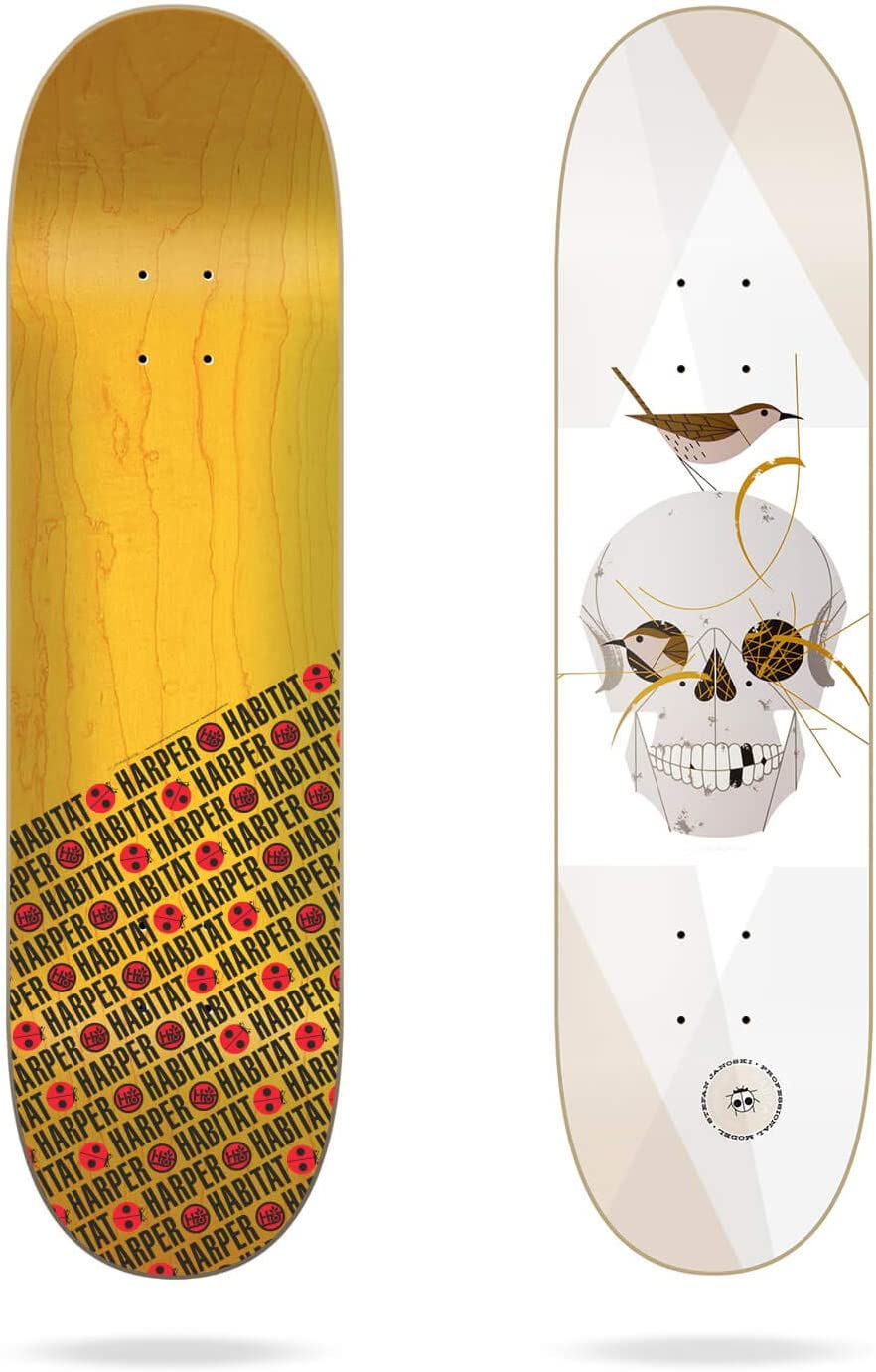 Habitat Janoski Harper Wrented 8.125 Skateboard Decks Mixte Adulte Multicolore Taille Unique