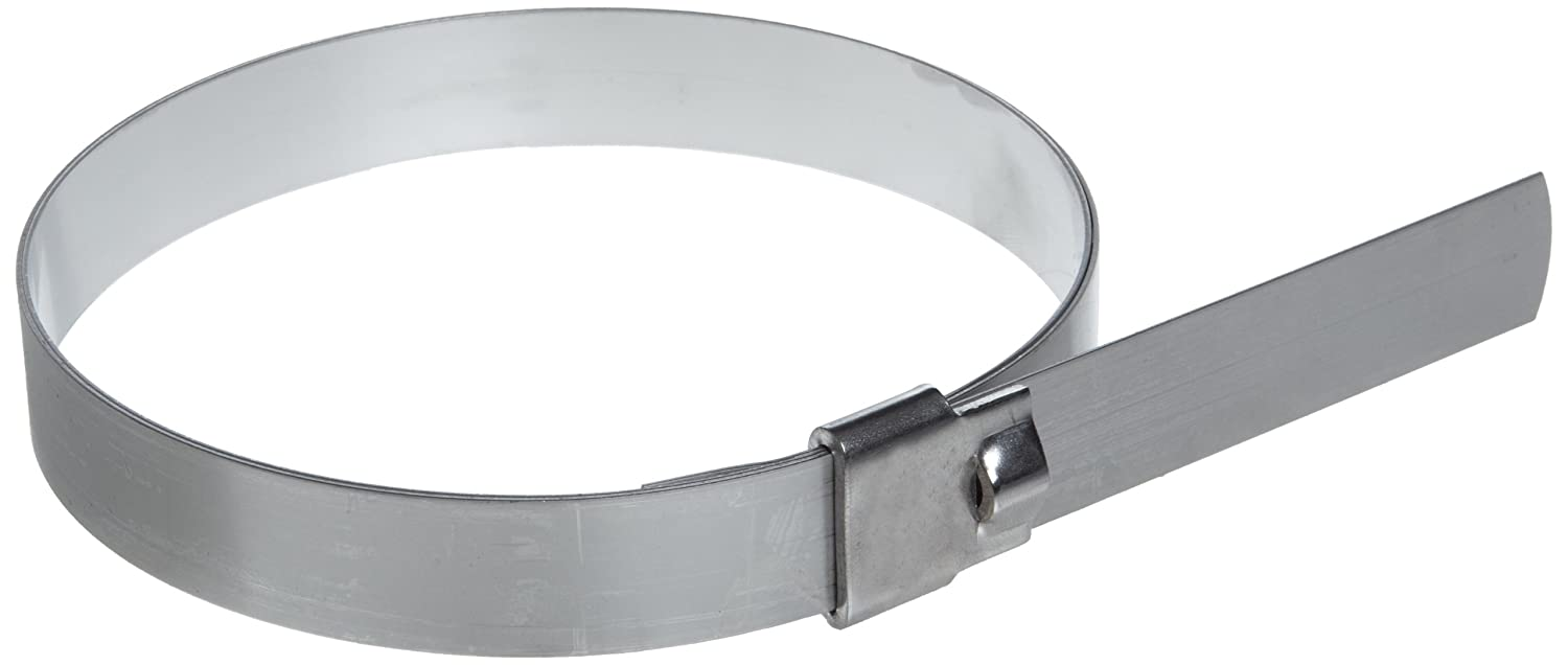 201 1//4 Hard Stainless Steel Preformed Clamp 25 Per Box BAND-IT UL2159 Ultra-Lok 3//4 Wide x 0.030 Thick 5 Diameter