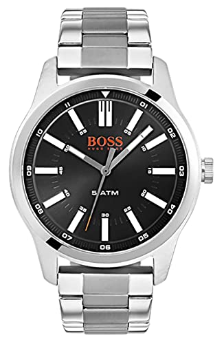 988368aefeed Hugo Boss Orange Unisex-Adult Watch 1550069  Amazon.co.uk  Watches