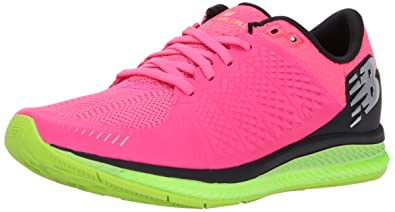 New Balance Womens Fuelcell Running-Shoes, Alpha Pink/Lime Glo, ...