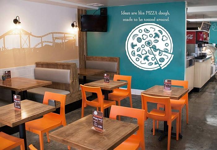 Amazon Pizza Quotes Vinyl Wall Decal Pizzeria Funny Decor Art