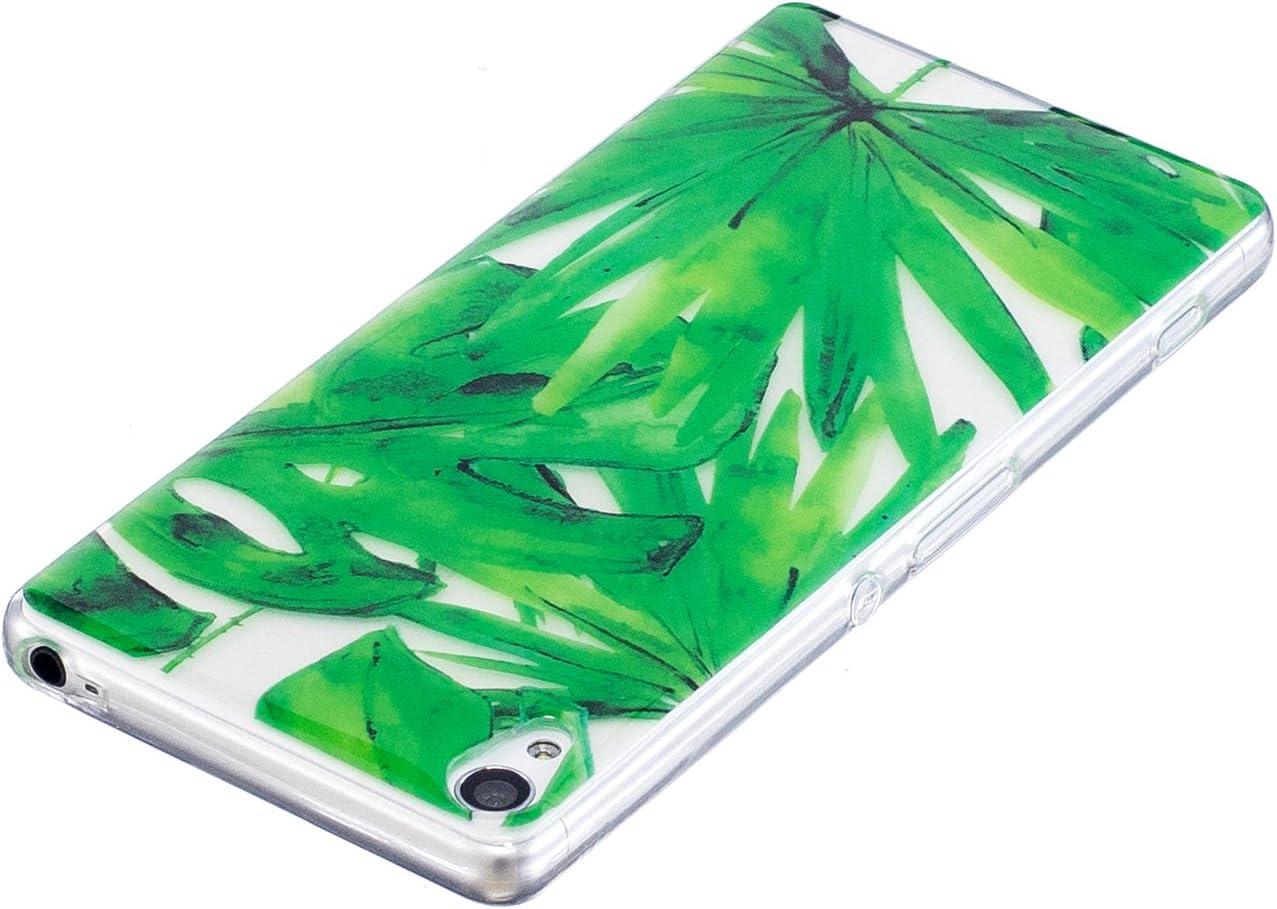 Ultra Mince Amour Color/é Motif Antid/érapant Crystal Flexible Gel Souple TPU Bumper Compatible avec Sony Xperia XA MoreChioce Compatible avec Coque Sony Xperia XA Housse Silicone